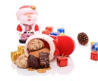γλυκό δώρων Χριστουγέννω&nu Στοκ φωτογραφία με δικαίωμα ελεύθερης χρήσης