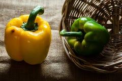 γλυκό επάνω λευκό πιπεριών ανασκόπησης στενό στοκ εικόνες με δικαίωμα ελεύθερης χρήσης
