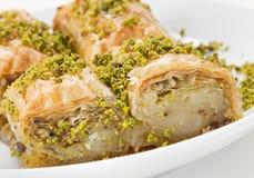 γλυκό επιδορπίων baklava Στοκ εικόνα με δικαίωμα ελεύθερης χρήσης
