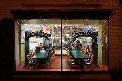 Γλυκό εστιατόριο του Thomas στην Τζωρτζτάουν Στοκ Φωτογραφία