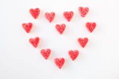 γλυκό καρδιών καρδιών Στοκ φωτογραφία με δικαίωμα ελεύθερης χρήσης