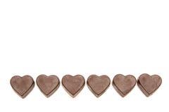 γλυκό καρδιών πλαισίων στοκ φωτογραφίες με δικαίωμα ελεύθερης χρήσης