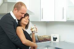 γλυκό κουζινών ζευγών Στοκ φωτογραφία με δικαίωμα ελεύθερης χρήσης