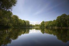 γλυκό λιμνών Στοκ φωτογραφίες με δικαίωμα ελεύθερης χρήσης