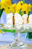 γλυκό μαρέγκας Στοκ φωτογραφία με δικαίωμα ελεύθερης χρήσης