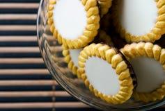 γλυκό μπισκότων στοκ εικόνα