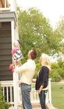 γλυκό οικογενειακής στιγμής Στοκ Φωτογραφία
