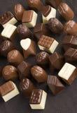 γλυκό πραλινών σοκολάτας Στοκ εικόνα με δικαίωμα ελεύθερης χρήσης