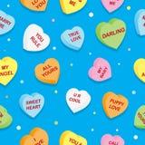 γλυκό προτύπων καρδιών Στοκ εικόνα με δικαίωμα ελεύθερης χρήσης