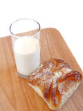 γλυκό ρόλων γάλακτος Στοκ εικόνες με δικαίωμα ελεύθερης χρήσης