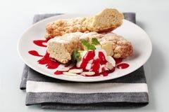 γλυκό ρόλων ψωμιού Στοκ φωτογραφία με δικαίωμα ελεύθερης χρήσης