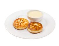 γλυκό σάλτσας τηγανιτών π&omi Στοκ εικόνες με δικαίωμα ελεύθερης χρήσης