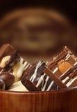 γλυκό σοκολάτας καραμ&epsi Στοκ φωτογραφίες με δικαίωμα ελεύθερης χρήσης