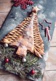 Γλυκό χριστουγεννιάτικο δέντρο Στοκ Εικόνες