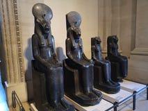 Γλυπτά στο μουσείο του Λούβρου στο Παρίσι, Γαλλία Στοκ φωτογραφίες με δικαίωμα ελεύθερης χρήσης