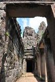 Γλυπτά Standstone στο ναό Bayon στην Καμπότζη Στοκ εικόνα με δικαίωμα ελεύθερης χρήσης