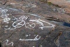 Γλυπτικές βράχου στοκ φωτογραφία με δικαίωμα ελεύθερης χρήσης