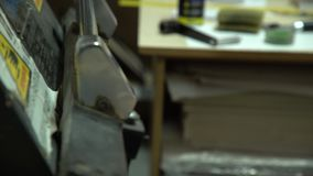 γλυπτική Διαδικασία χάραξης απόθεμα βίντεο