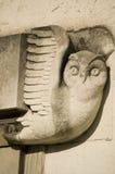 Γλυπτική κουκουβαγιών του Art Deco, Southampton Στοκ Φωτογραφίες