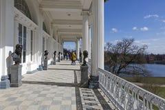 Γλυπτική συλλογή της στοάς του Cameron του παλατιού της Catherine σε Pushkin Στοκ εικόνα με δικαίωμα ελεύθερης χρήσης