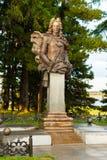 Γλυπτικό μνημείο στον πρίγκηπα Αλέξανδρος Menshikov σε Berezovo Στοκ φωτογραφία με δικαίωμα ελεύθερης χρήσης
