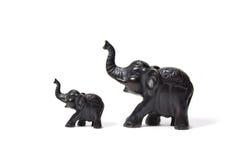 γλυπτό ελεφάντων Στοκ Εικόνα