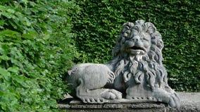γλυπτό λιονταριών Στοκ εικόνα με δικαίωμα ελεύθερης χρήσης