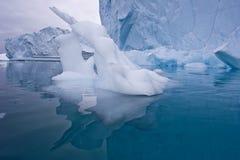 γλυπτό πάγου Στοκ Εικόνα