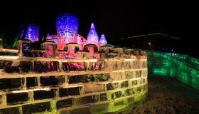 γλυπτό πάγου Στοκ φωτογραφίες με δικαίωμα ελεύθερης χρήσης