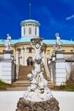 Γλυπτό στο μουσείο-κτήμα Arkhangelskoye - Μόσχα Ρωσία Στοκ φωτογραφία με δικαίωμα ελεύθερης χρήσης