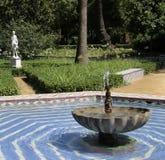 Γλυπτό στο πάρκο της Μαρίας Luisa στη Σεβίλη στοκ φωτογραφία με δικαίωμα ελεύθερης χρήσης