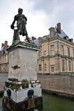 Γλυπτό στο παλάτι του Φοντενμπλώ, Ile-de-France Στοκ Φωτογραφία