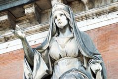 γλυπτό της Ρώμης εισόδων ν&epsil Στοκ φωτογραφία με δικαίωμα ελεύθερης χρήσης
