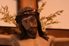 γλυπτό Χριστού Ιησούς στοκ φωτογραφία με δικαίωμα ελεύθερης χρήσης