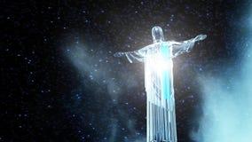 γλυπτό Χριστού Ιησούς Διανυσματική απεικόνιση