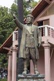 Γλυπτό Nordom Sihanouk στη Πνομ Πενχ στοκ εικόνες