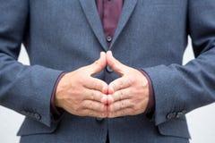 Γλώσσα του σώματος Στοκ εικόνα με δικαίωμα ελεύθερης χρήσης