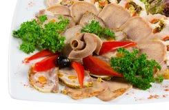 γλώσσα χοιρινού κρέατος &ch στοκ εικόνες