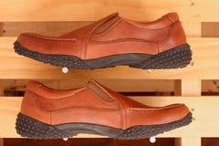 γνήσια παπούτσια δέρματος Στοκ φωτογραφίες με δικαίωμα ελεύθερης χρήσης