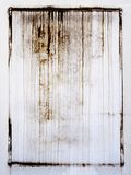 Γνήσιος λεκές για το πλαίσιο grunge, υπόβαθρο Φωτογραφία στον τοίχο, μορφή ορθογωνίων στοκ εικόνα με δικαίωμα ελεύθερης χρήσης
