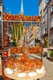 Γντανσκ ηλέκτρινο κόσμημα Στοκ φωτογραφία με δικαίωμα ελεύθερης χρήσης
