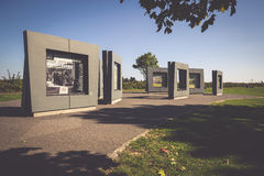 Γντανσκ, 19.2015 Πολωνία-Σεπτεμβρίου: Οι επισκέπτες ενημερώνονται για τις πράξεις Στοκ φωτογραφίες με δικαίωμα ελεύθερης χρήσης