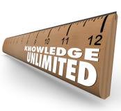 Γνώσης απεριόριστη εκπαίδευση νοημοσύνης κυβερνητών υψηλή ελεύθερη απεικόνιση δικαιώματος