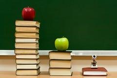 γνώση μήλων στοκ εικόνα