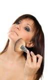 Γοητεία της γυναίκας, makeup Στοκ φωτογραφία με δικαίωμα ελεύθερης χρήσης
