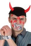 γοητευμένος daemon πλάνος Στοκ εικόνα με δικαίωμα ελεύθερης χρήσης