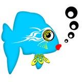 γοητευτικά ψάρια Στοκ Εικόνες