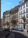 Γοητευτικές οδοί του Παρισιού Στοκ Εικόνες