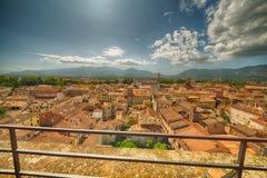Γοητευτική άποψη Lucca Στοκ Φωτογραφίες