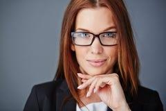 Γοητευτικός υπάλληλος Στοκ εικόνα με δικαίωμα ελεύθερης χρήσης